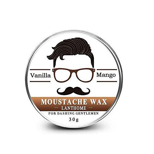 Binglinghua 100% Natural Beard Oil And Balm Moustache Wax For Styling Beeswax Moisturizing