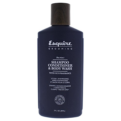 Esquire Grooming 3-in-1 Shampoo Conditioner & Body Wash for Men, 3 - Esquire It