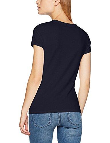 Camiseta Mujer Para Stretch Gant Azul shirt T Blue evening TOwg66q1