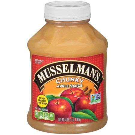 Musselman's Chunky Apple Sauce, 48 Ounce (Pack of 6) by Musselmans (Image #1)