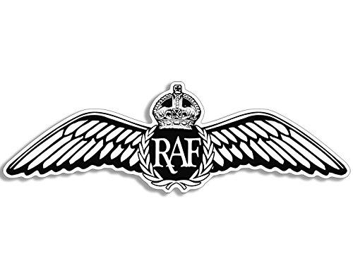 American Vinyl RAF Wings Shaped Sticker (UK Royal air Force)