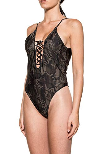 F Pièce Une B2a135xx k Polyester Maillot Femme Noir f6ngFfqaw