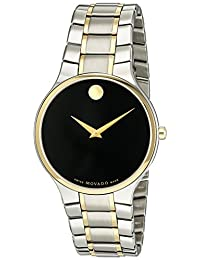 Movado Men's 0606901 Analog Display Swiss Quartz Two Tone Watch