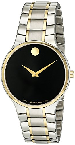 Museum Dial Stainless Bracelet (Movado Men's Swiss Quartz Stainless Steel Casual Watch (Model: 0606901))