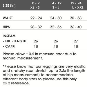 VIV Collection Regular Size Printed Brushed Leggings (Nighttime Bloom) by VIV Collection (Image #5)