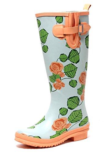 Femme Caoutchouc En Bottes Zapato Europe TARqP