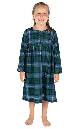 - PajamaGram Heritage Plaid Girls Nighty 6