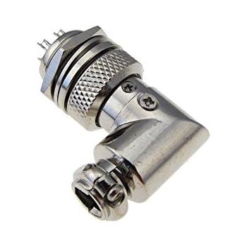 M20 HQ 8 Contacts 8 Pins  Aviation Plug Socket Connector