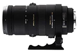 Sigma 120-400mm F4.5-5.6 DG APO OS HSM Lens For Nikon (Black)