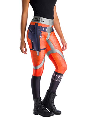 Rubie's Women's Star Wars Classic X-Wing Fighter Pilot Leggings, One Size -