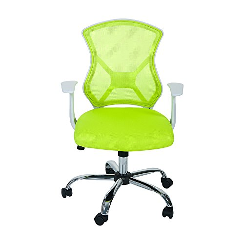 Merax Swivel Mesh Office Desk Task Chair with Armrest
