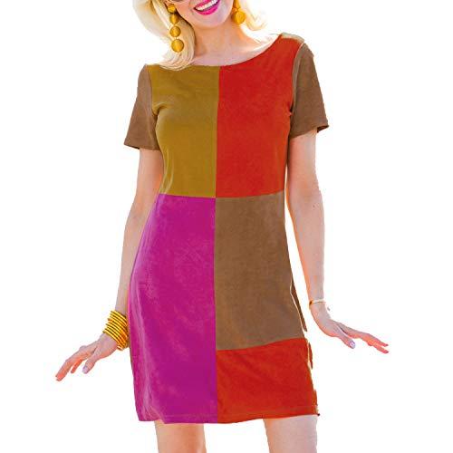 Julie Brown Womens Suede Colorblock Dress Multi 0