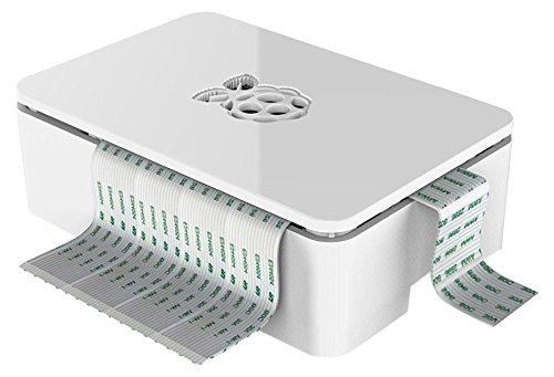 416 opinioni per Raspberry Pi Custodia per Raspberry Pi B + e Pi2, colore: nero bianco white