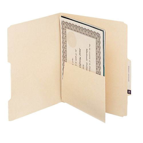 (Smead 68030 MLA Self-Adhesive Folder Dividers with 5-1/2 Pockets on Both Sides (Pack of 25))