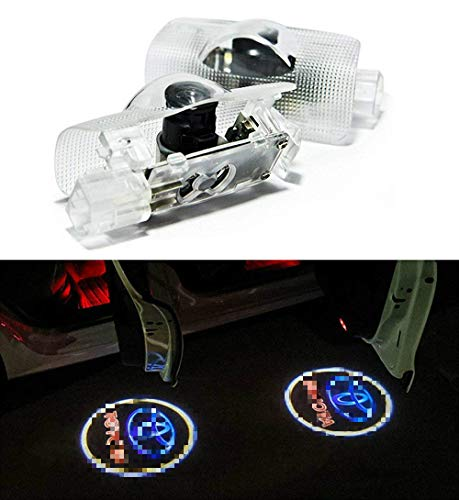 - Crystal for Toyota 4 Runner Avalon Camry Highlander Land Cruiser Prius Sequoia Sienna Tundra Venza Car LED Projector Door Ghost Shadow Welcome Logo Light