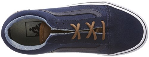 Yellow Vans Unisex Azul Zapatillas Old C Adulto Skool t0qxzArw0