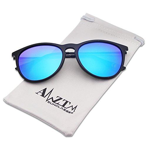 mujer para Hielo de AMZTM sol Gafas Azul 8qxABaF
