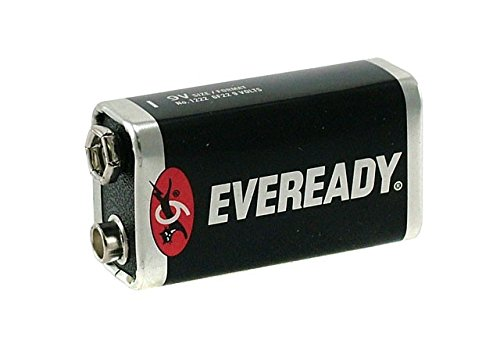 20 Pack Of 9 Volt Eveready Super Heavy Duty Batteries (6f22 Super Heavy Duty Batteries)