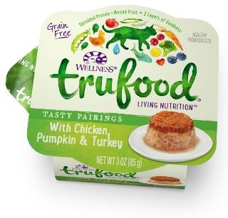 Wellness TruFood Tasty Pairings Wet Cat With Chicken, Pumpkin & Turkey 24/3Z by PetWell