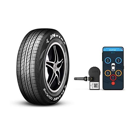 JK Tyre Smart 165/80 R14 Elanzo Touring Tubeless Car Tyre