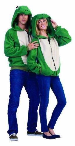 rog Hoodie, Green/Tan, Large ()