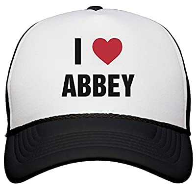 I Love Abbey Matching Hats: Snapback Trucker Hat