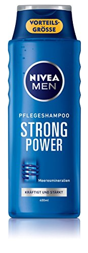 Nivea for men Strong Power Shampoo, 6er Pack (6 x 400 ml)