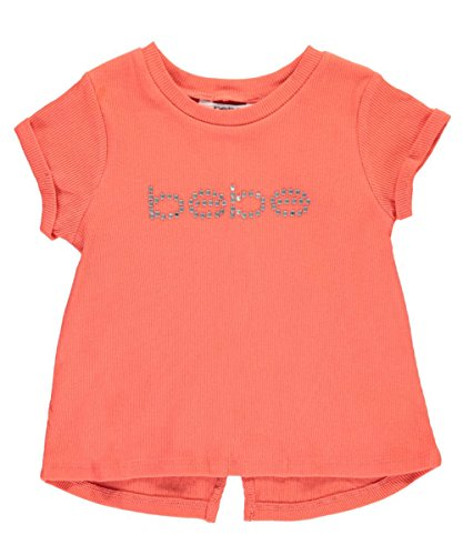 Price comparison product image Bebe Girls Girls' Rib Top, 2T, Pink