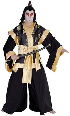 Rubies 1 4916 56 - Disfraz de samurai para hombre (talla 56 ...