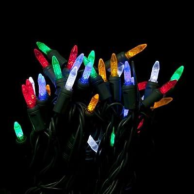 Multi color Mini LED Christmas lights - Multi color M5 Mini String light 35ft.