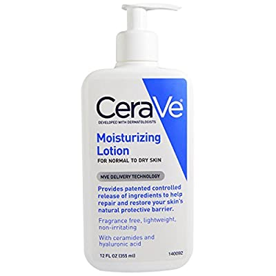 CeraVe, Moisturizing Lotion, Fragrance Free, 12 fl oz (355 ml)