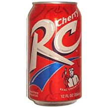 7-UP Royal Crown Cola, Cherry, 12-Ounce (Pack of 24)