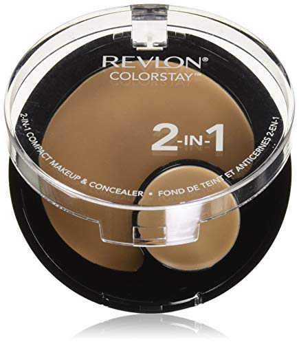 Revlon ColorStay 2-in-1 Compact Makeup & Concealer, Buff