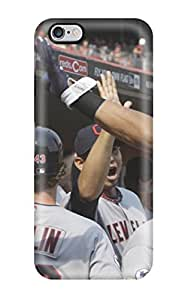 High Impact Dirt/shock Proof Case Cover For Iphone 6 Plus (cleveland Indians )