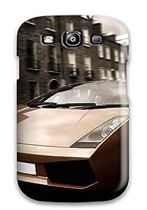 Galaxy High Quality Tpu Case/ Lamborghini Gallardo TChAatL4846HZnBO Case Cover For Galaxy S3