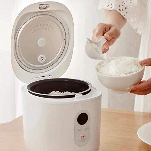 YGB Multifunctionele rijstkoker, mini-rijstkoker, 1,2 l, intelligente elektrische PFA-poedercoating-koker voor scholieren, 300 W, 220 V
