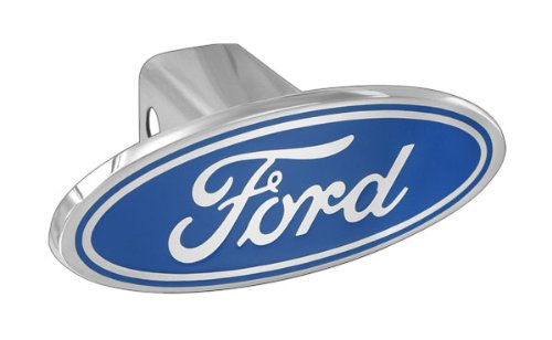 p. Block Emblem Metal Trailer Tow Hitch Cover (Ford Hitch Cover)