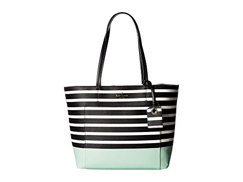 Kate Spade New York Women's Hyde Lane Dipped Small Riley Tote, Sea Glass Green Multi, One Size