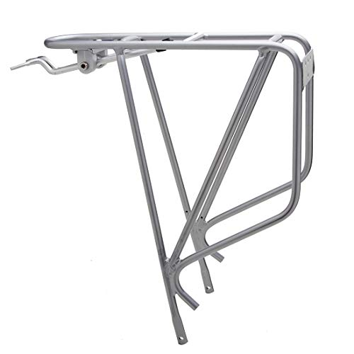 Planet Bike K.O.K.O Bike Rack, Silver, Bicycle Touring Carrier, Cargo Rack Fits 26″, 27.5″, 700c, and 29″ MTB, ATB, Road, and Cyclocross Bikes