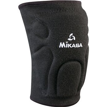 Mikasa Sports Youth Knee Pads Volleyball-basketball-avail. In Black