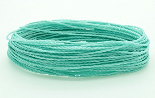 - MINT 1mm Waxed Polyester Twisted Cord Macrame Bracelet Thread Artisan String (30yards Skein)