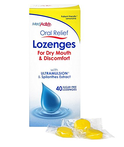 MedActive Oral Relief Lozenges - LemonLime - 120-Pack by MedActive