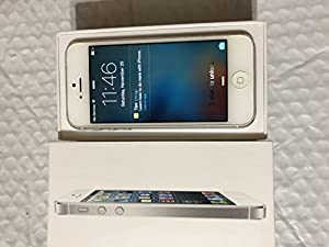 Apple iPhone 5 16GB Factory Unlocked GSM Cell Phone - White