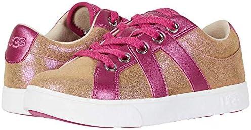 キッズカジュアルシューズ?靴 Marcus Sneaker Shimmer (Toddler/Little Kid/Big Kid) Chestnut/Fuchsia (24-24.5cm) M [並行輸入品]