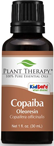 Plant Therapy Copaiba Oleoresin 30 mL (1 oz) 100% Pure, Undiluted, Therapeutic Grade