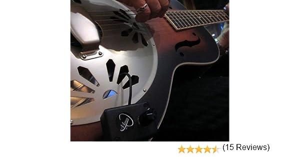 Dobro Guitarra pastilla, con FLEXIBLE MICRO-GOOSE cuello por Myers ...