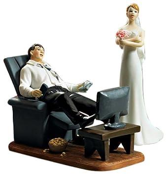 Hochzeit tortenfigur game over