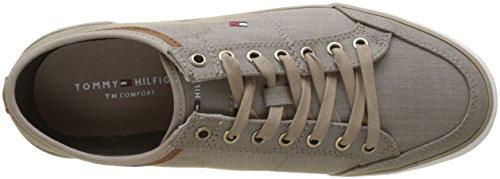 Cobblestone da Beige Hilfiger Tommy Uomo Material Ginnastica 068 Scarpe Basse Sneaker Core Mix OAFAwqP