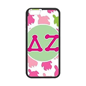Delta Zeta Turtles iPhone 6 4.7 Inch Cell Phone Case Black Pretty Present zhm004_5956813