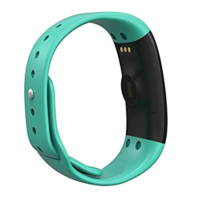 [New] myFit Momentum Series Fitness Activity & Automatic Sleep Tracker Watch Wrist Band Heart Rate Monitor Pedometer workout calorie sports distance step bit counter (30 minute charge)